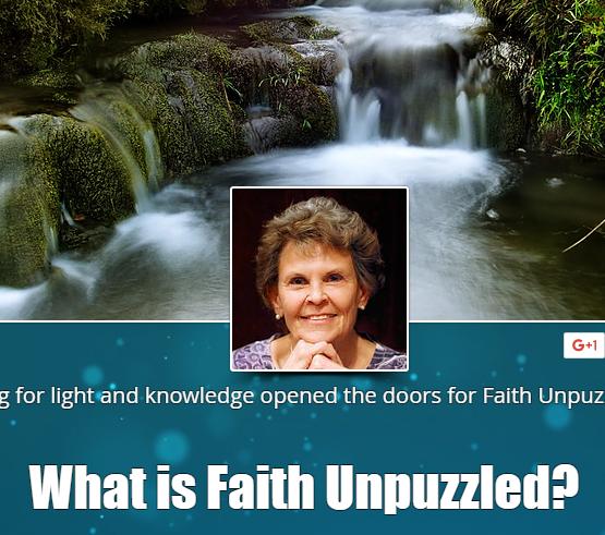 FAITH UNPUZZLED
