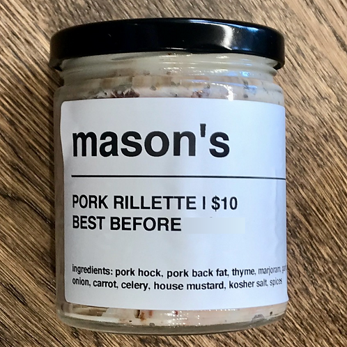 Pork Rillette