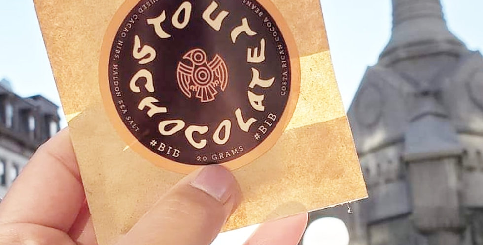 STOUT CHOCOLATE DISKS (3 pack)