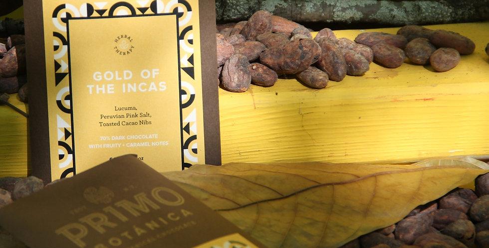 GOLD OF THE INCAS (Salt, Lucuma, Nibs)