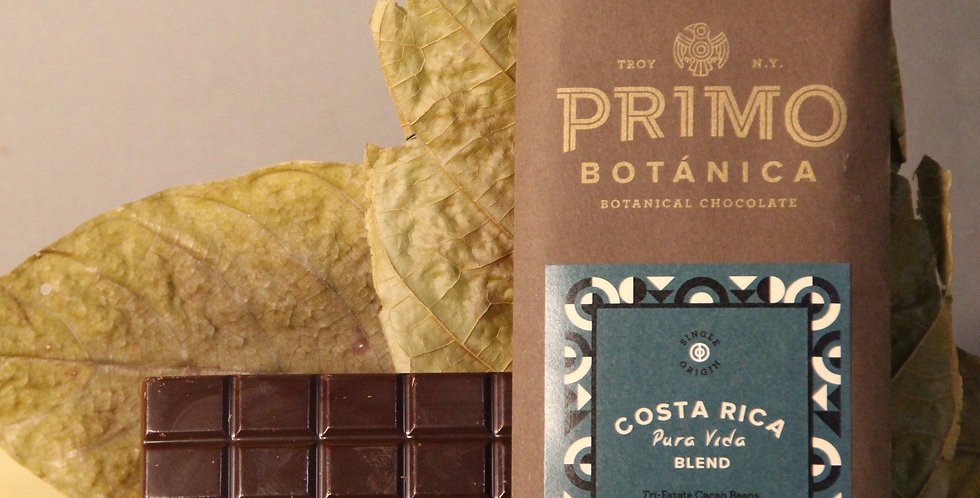 COSTA RICA Pura Vida Estate Blend (60%) 2.1 Oz Bar