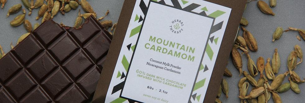 MOUNTAIN CARDAMOM (Dark Mylk 2.1 oz bar)
