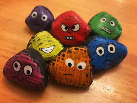"""""""Feelings Stones"""" for Parents"""