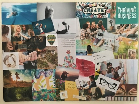 Manifesting your Desires by Creating a Vision Board