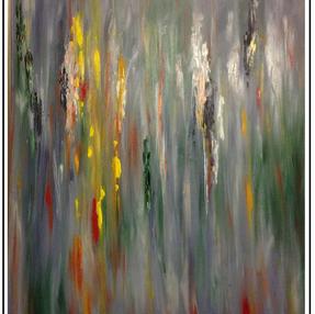 Rainbow Gum, 2017, oil on canvas