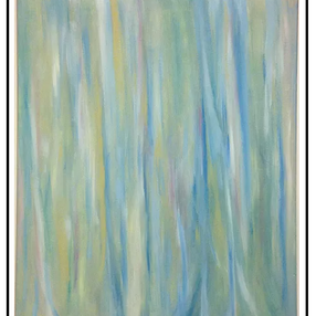 Silver Gum, 2016, oil on canvas