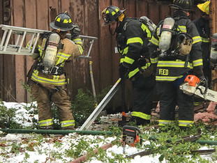 Canton Volunteer Fire & EMS Crews respond to third house fire in four days
