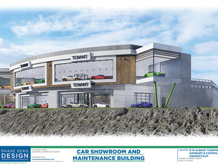 Commission to hear updated plans for EV showroom, gas station