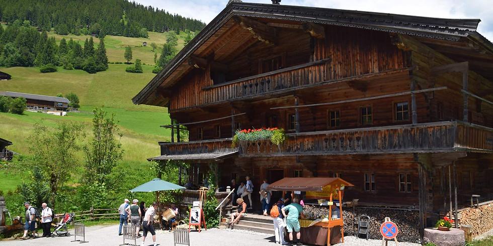 """Besuch des Bergbauernmuseums """"z'Bach"""" in der Wildschönau"""