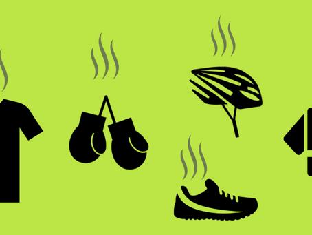 Como tirar cheiro ruim de suor da roupa de treino?
