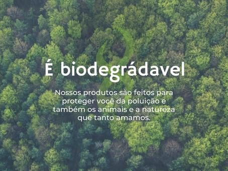 Por que devo usar produtos biodegradáveis?