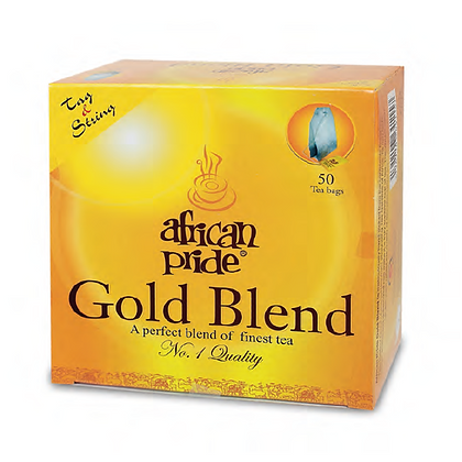African Pride gold blend tea bags -100g