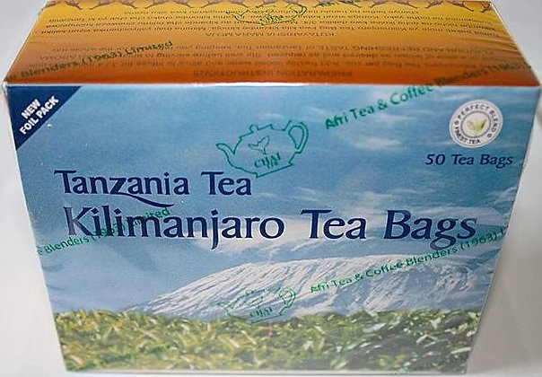 Kilimanjaro regular Tea Bags - 100g