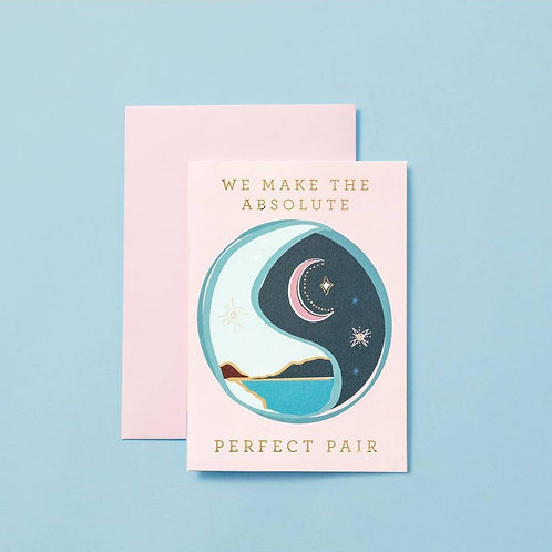 We make the absolute perfect pair card
