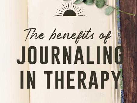 Journaling In Therapy- Mental Health Awareness Week