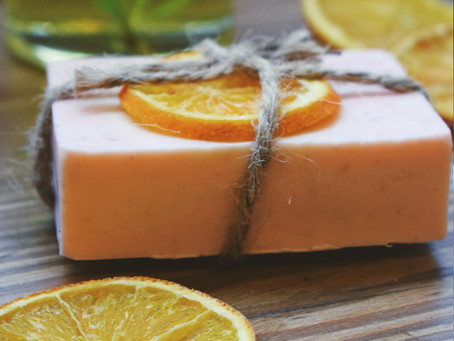 Sweet Orange and Rosemary Shea Butter Soap
