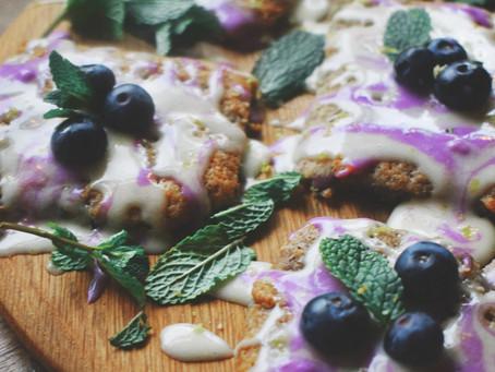 Lemon And Blueberry Cookies (Vegan)