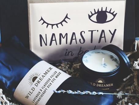 Namast'ay In Bed Gift Set