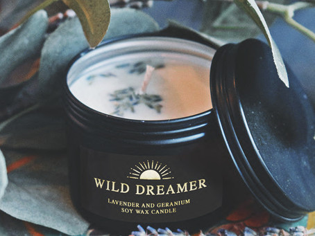 New: Wild Dreamer Soy Wax Candle