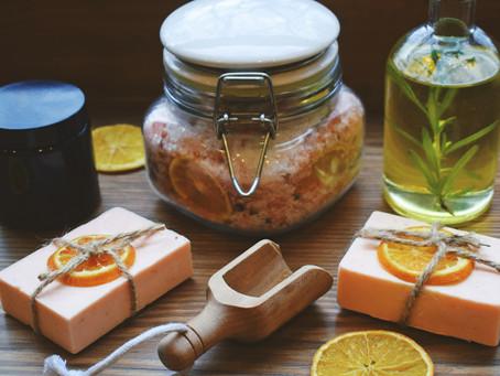Sweet Orange And Rosemary Bath Time Ritual