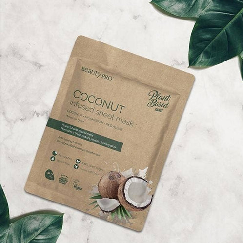 The BeautyPro Coconut Infused Sheet Mask