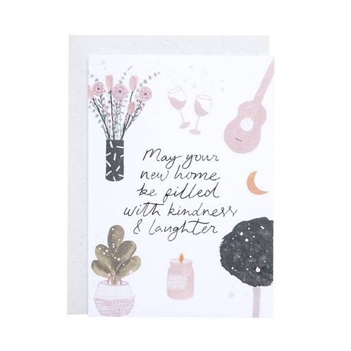 May Your Home Be Filled With Kindness And Laughter Card