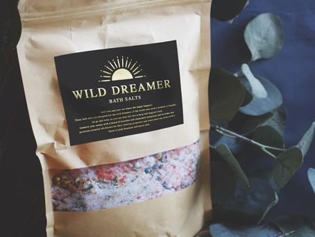New: Wild Dreamer Bath Salts