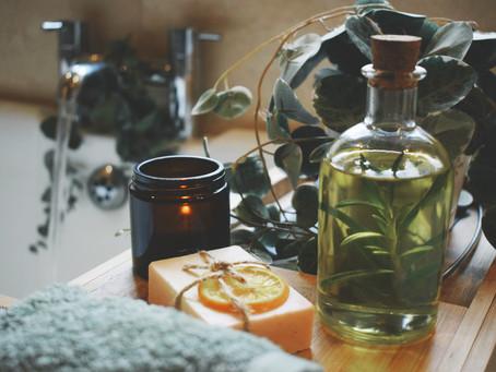 Sweet Orange and Rosemary Jojoba Bath Oil