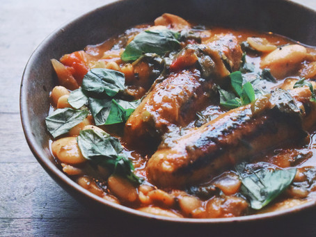 Hearty Vegan Sausage And Bean Stew