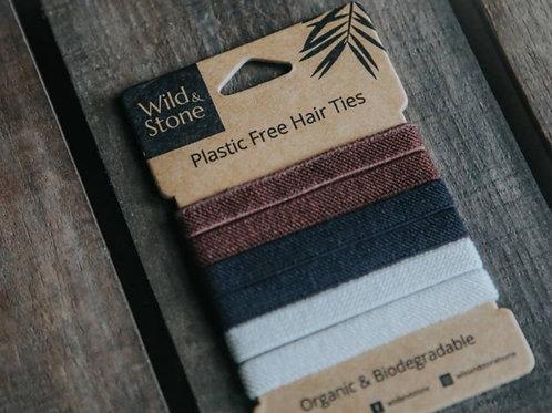 Plastic Free Natural Hair Ties