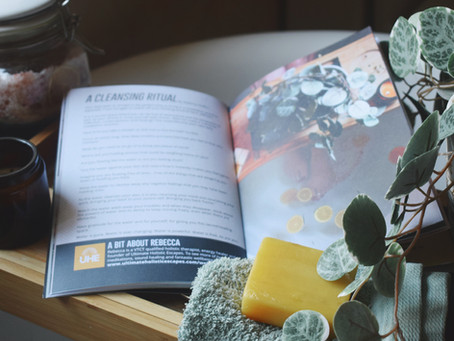 A Cleansing Ritual- Magazine feature