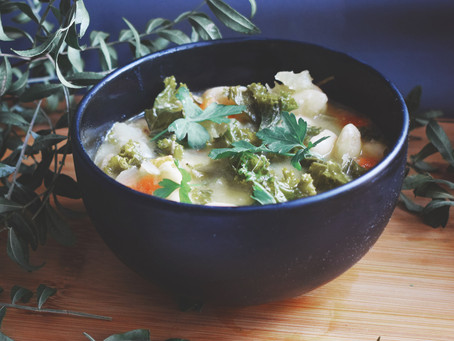 Rosemary And Butterbean Soup