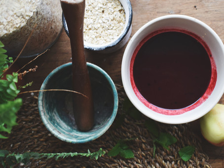 Autumnal Apple and Blackberry Balsamic Oil