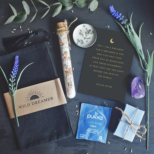 Wild Dreamer Bath Ritual + Wild Living Magazine + Wild Flowers Card