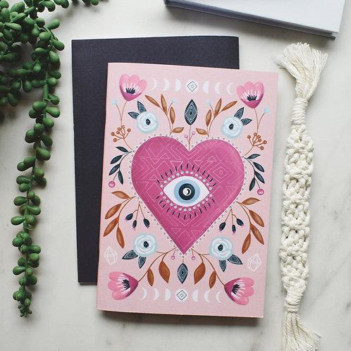 Visualise Third Eye Heart Notebook