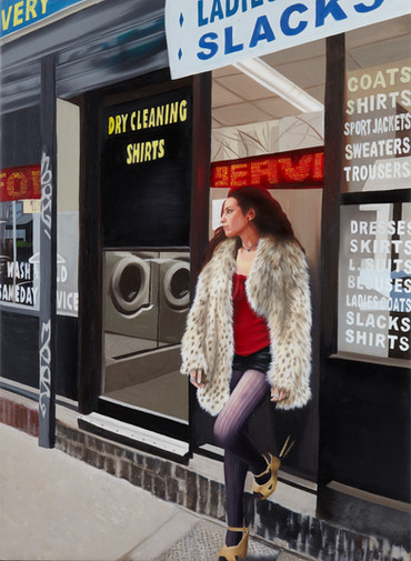 """Waiting For the Dry Cleaning"""