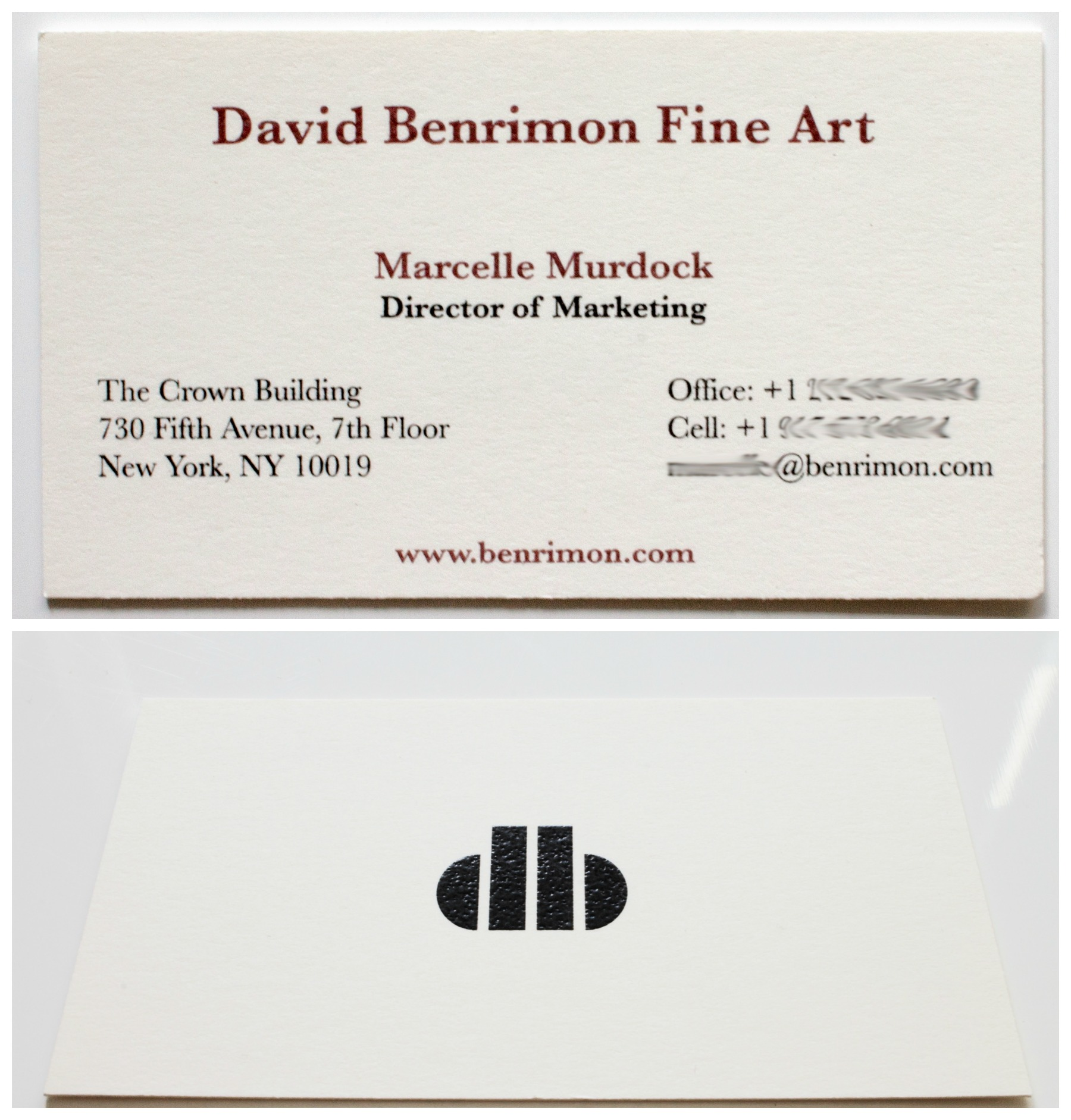DBFA business cards