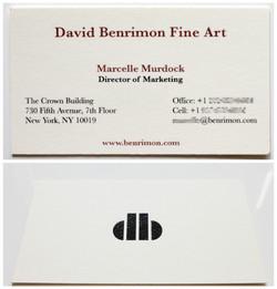 DBFA business cards