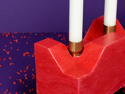 Unibrick Candle Holder