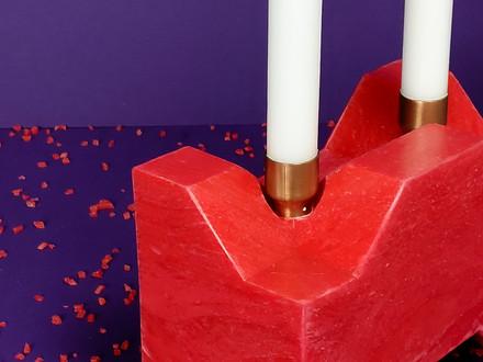 Unibrick Candle Holder