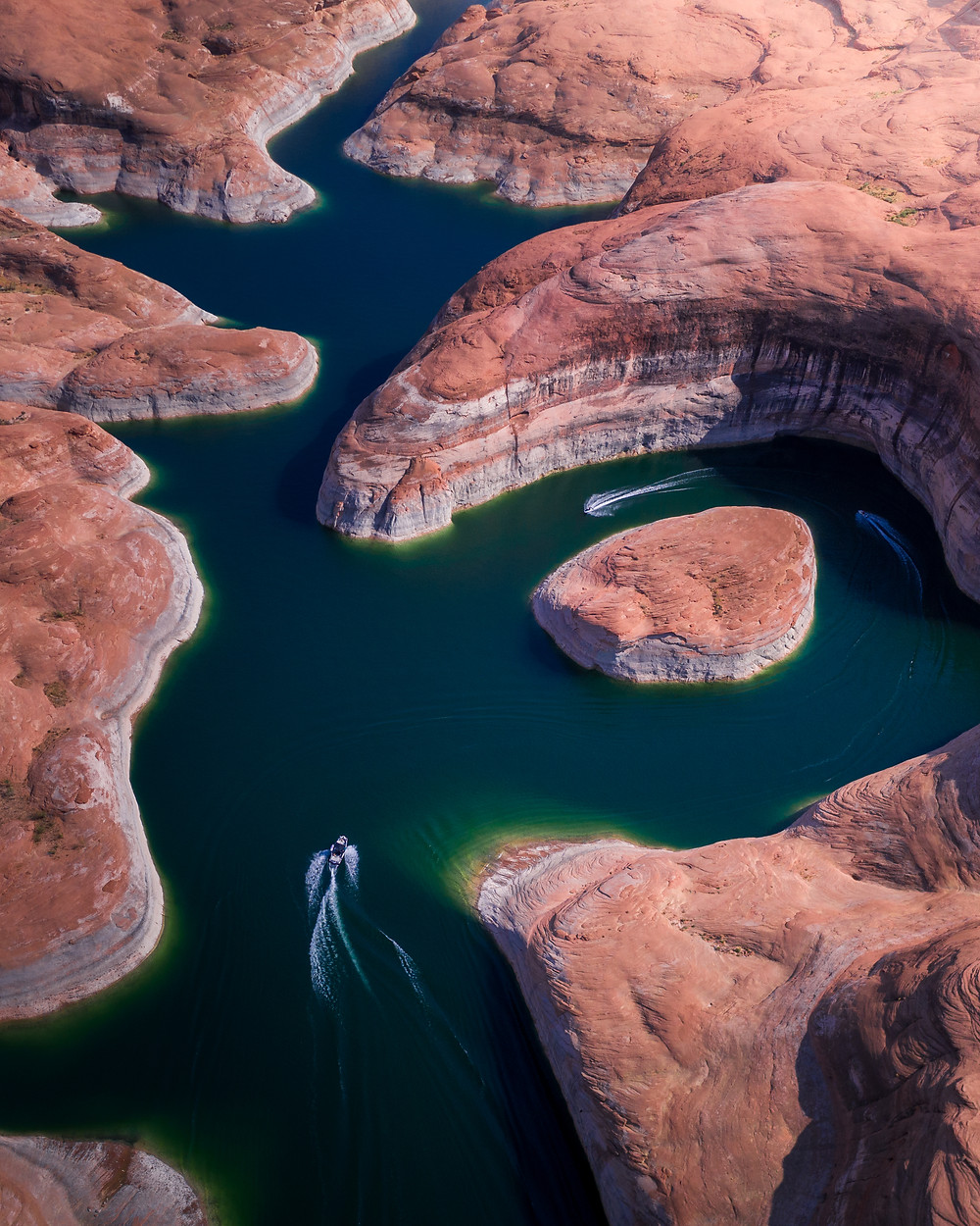 Jet Skiing through Lake Powell Canyons