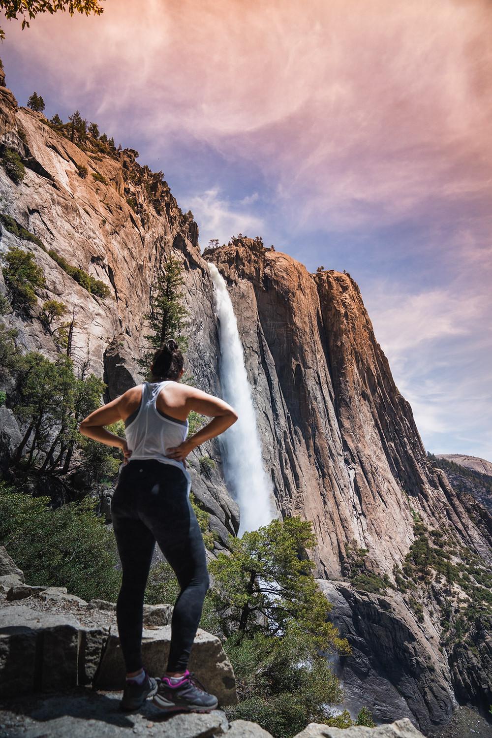 Upper Yosemite Fall Hike