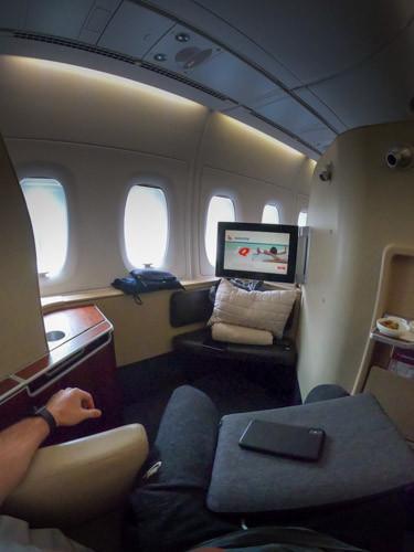 First Class Qantas A380