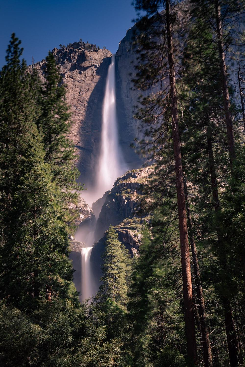 Upper and Lower Yosemite Waterfall