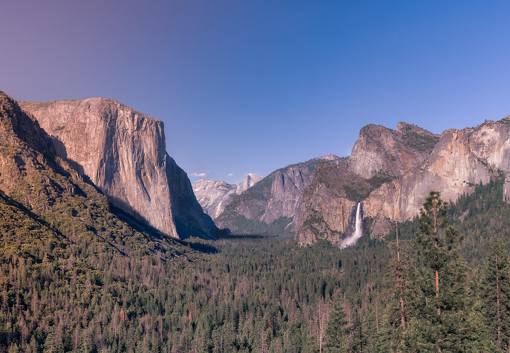 Tunnel View Yosemite National Park