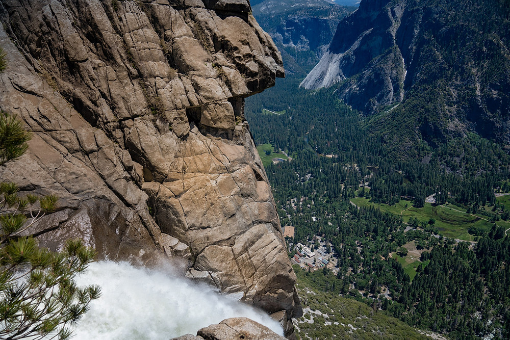Top of the Upper Yosemite Falls Hike