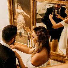 Glamour w duchu Slow Wedding | Pałac Żaków pod Warszawą