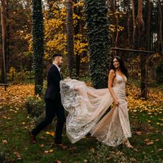 Jesienią byliśmy w Cichej23 | Listopadowa sesja plenerowa z nutą glamour