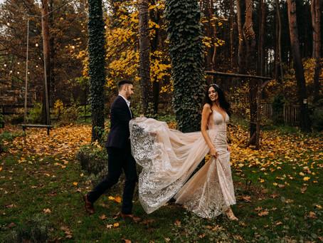Jesienią byliśmy w Cichej23   Listopadowa sesja plenerowa z nutą glamour