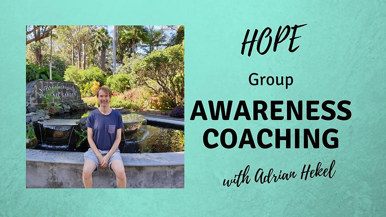 H.O.P.E. Awareness Coaching Gatherings